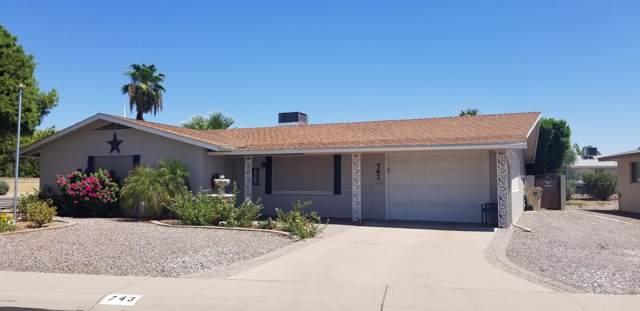 743 N 55th Place, Mesa, AZ 85205 (MLS #5969277) :: CC & Co. Real Estate Team