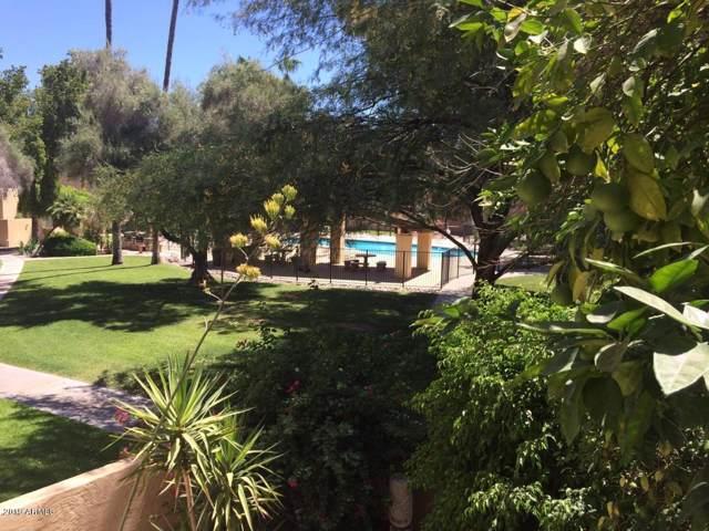 4201 E Camelback Road #36, Phoenix, AZ 85018 (MLS #5969784) :: Devor Real Estate Associates
