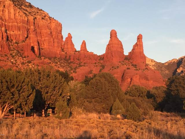 8 lots Eagle Vistas Subdivision Way, Sedona, AZ 86336 (MLS #5970103) :: Conway Real Estate