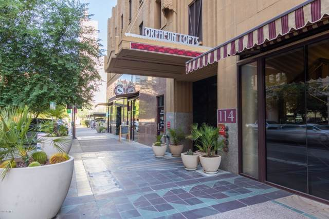 114 W Adams Street #308, Phoenix, AZ 85003 (MLS #5971100) :: CC & Co. Real Estate Team