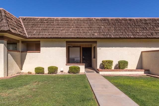 8161 N 107TH Avenue #107, Peoria, AZ 85345 (MLS #5971452) :: The Garcia Group