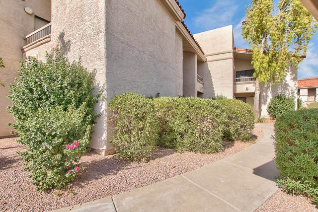 9460 E Mission Lane #120, Scottsdale, AZ 85258 (MLS #5972145) :: CC & Co. Real Estate Team