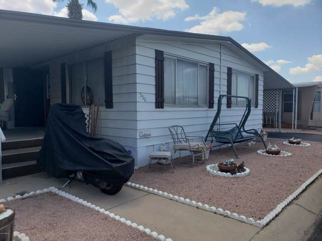 8720 E Mckellips Road #550, Scottsdale, AZ 85257 (MLS #5972829) :: The Kenny Klaus Team