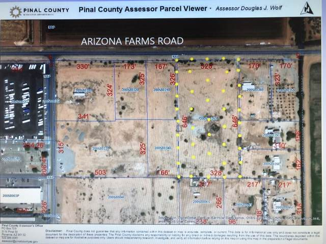 0 E Arizona Farms Road, Florence, AZ 85132 (MLS #5973365) :: Midland Real Estate Alliance