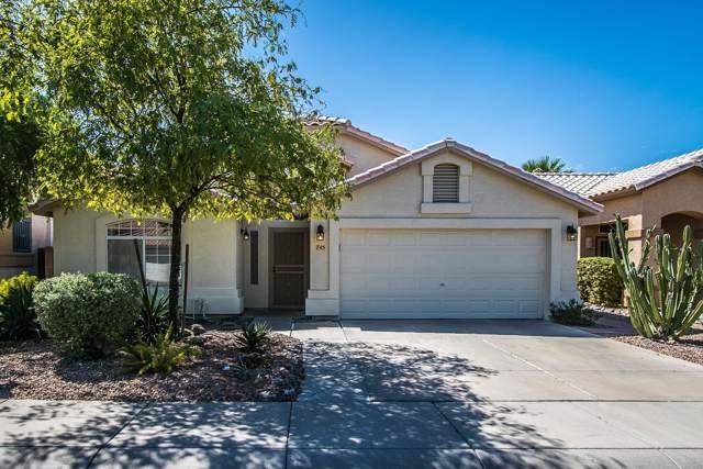 745 E Megan Street, Chandler, AZ 85225 (MLS #5975750) :: The W Group