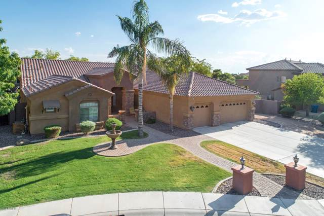 11627 E San Tan Court, Chandler, AZ 85249 (MLS #5977338) :: The W Group