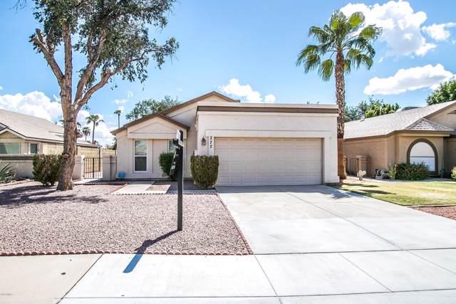 277 S Criss Street, Chandler, AZ 85226 (MLS #5977924) :: Lucido Agency