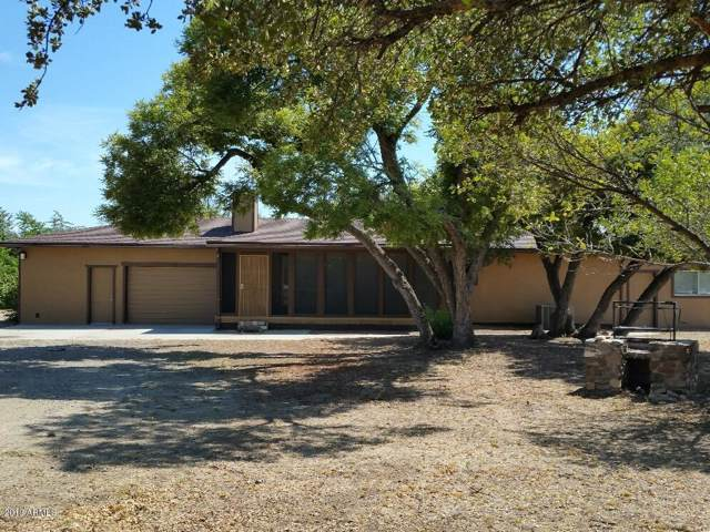 16587 W Unknown Mexican Avenue, Peeples Valley, AZ 86332 (MLS #5978886) :: Devor Real Estate Associates