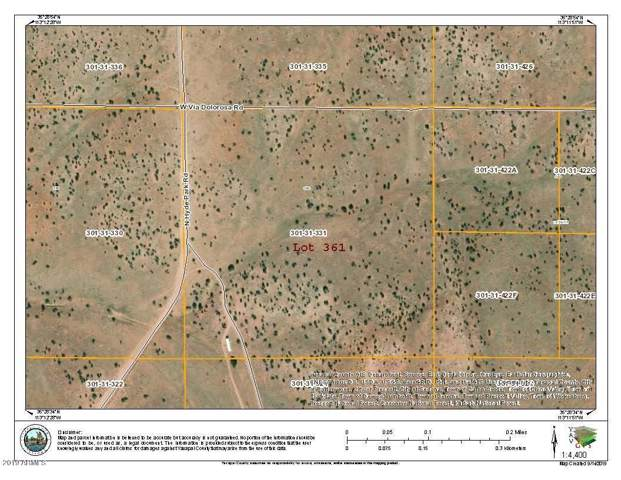 Lot 361 Hyde Park Road, Seligman, AZ 86337 (MLS #5980242) :: Yost Realty Group at RE/MAX Casa Grande