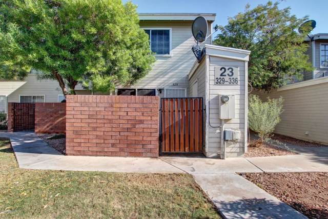 2301 E University Drive #329, Mesa, AZ 85213 (MLS #5981673) :: Keller Williams Realty Phoenix