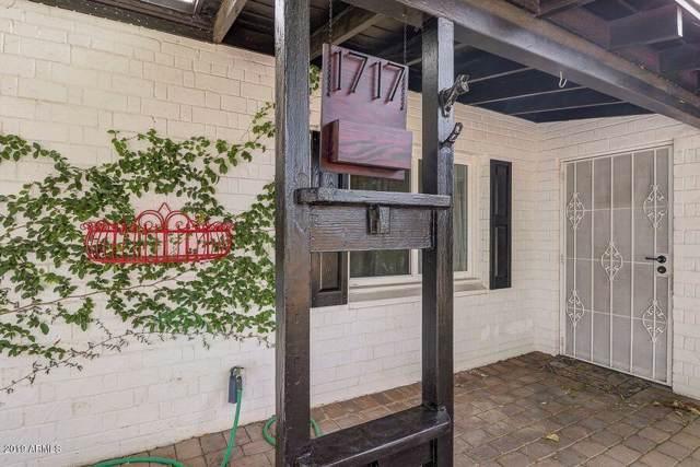 1717 W Earll Drive, Phoenix, AZ 85015 (MLS #5985272) :: Riddle Realty Group - Keller Williams Arizona Realty