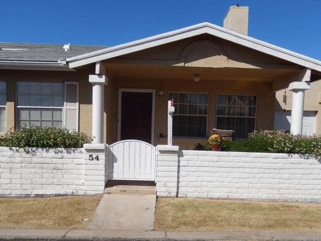 2929 E Broadway Road #54, Mesa, AZ 85204 (MLS #5987319) :: The Kenny Klaus Team