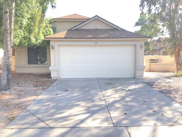 921 S Val Vista Drive #61, Mesa, AZ 85204 (MLS #5987803) :: Revelation Real Estate