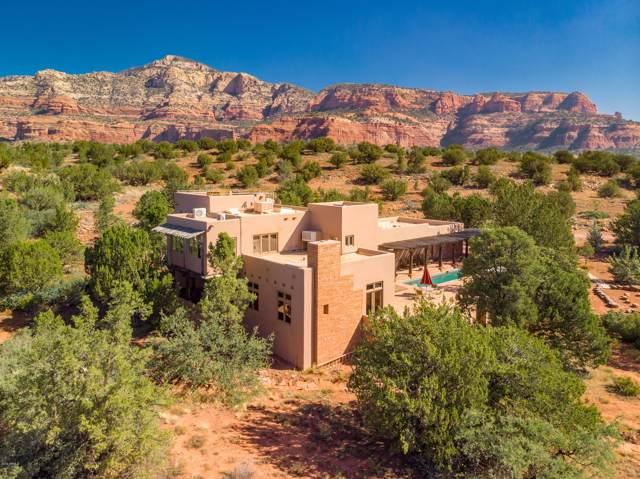 140 Bear Mountain Road, Sedona, AZ 86336 (MLS #5988204) :: Brett Tanner Home Selling Team