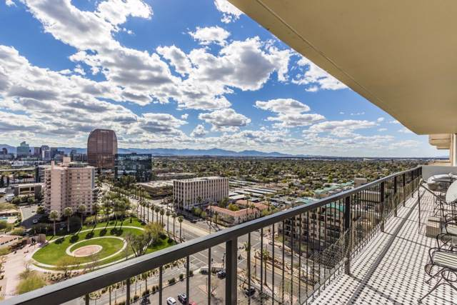2323 N Central Avenue 1906/01, Phoenix, AZ 85004 (MLS #5988908) :: CC & Co. Real Estate Team