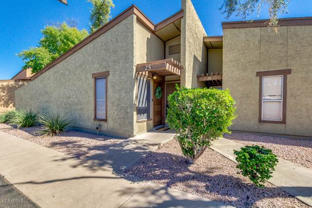 1051 S Dobson Road #25, Mesa, AZ 85202 (MLS #5990262) :: Riddle Realty Group - Keller Williams Arizona Realty