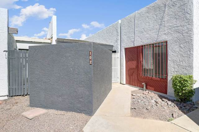 3551 N 12TH Street #102, Phoenix, AZ 85014 (MLS #5990310) :: Keller Williams Realty Phoenix