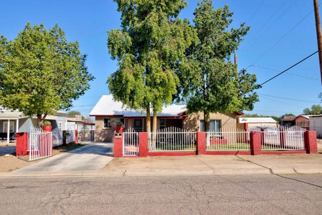 228 W Lindbergh Avenue, Coolidge, AZ 85128 (MLS #5991750) :: The Daniel Montez Real Estate Group