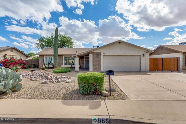 965 W Manhatton Drive, Tempe, AZ 85282 (MLS #5992112) :: Keller Williams Realty Phoenix