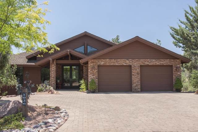 1026 N Scenic Drive, Payson, AZ 85541 (MLS #5992913) :: Lucido Agency