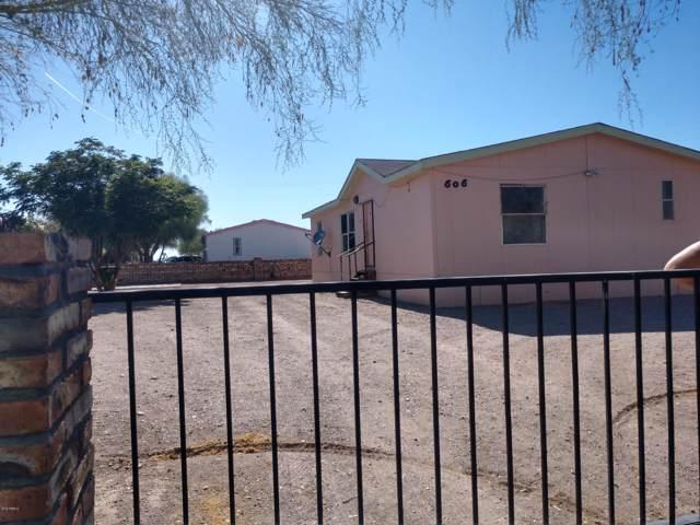 606 S Byrd Lane, Quartzsite, AZ 85346 (MLS #5993519) :: Revelation Real Estate