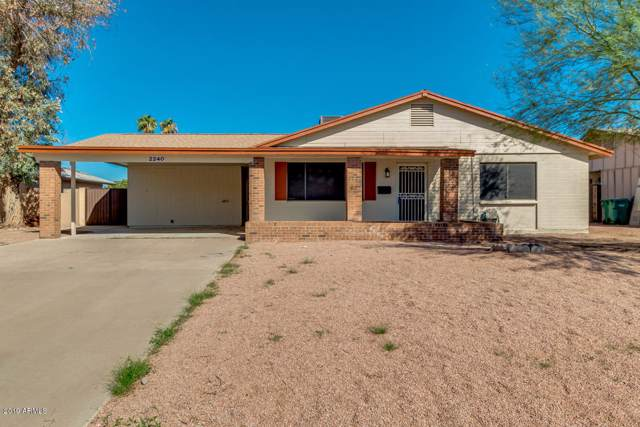 2240 W Del Campo Circle, Mesa, AZ 85202 (MLS #5993945) :: Revelation Real Estate