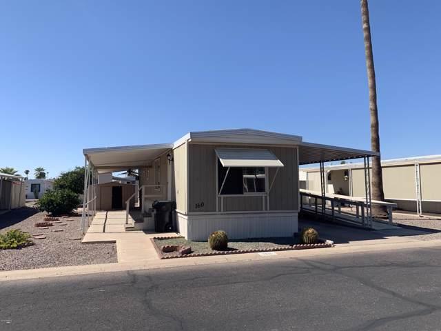 535 S Alma School Road #160, Mesa, AZ 85210 (MLS #5994994) :: Revelation Real Estate