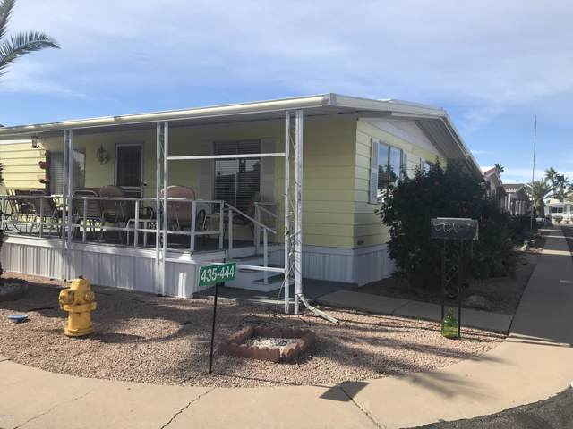 4065 E University Drive E #444, Mesa, AZ 85205 (MLS #5995774) :: The Results Group