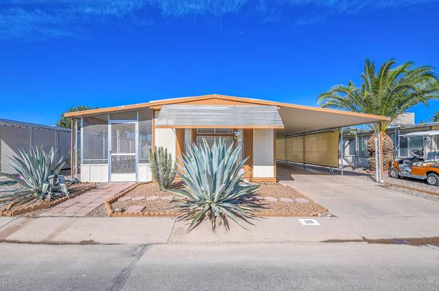 2100 N Trekell Road #26, Casa Grande, AZ 85122 (MLS #5998557) :: The Kenny Klaus Team