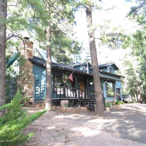 1176 W Apache Lane, Lakeside, AZ 85929 (MLS #6001910) :: Riddle Realty Group - Keller Williams Arizona Realty