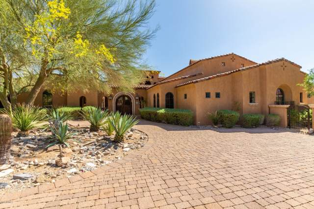 11071 E Saguaro Canyon Trail, Scottsdale, AZ 85255 (MLS #6002132) :: The Ramsey Team