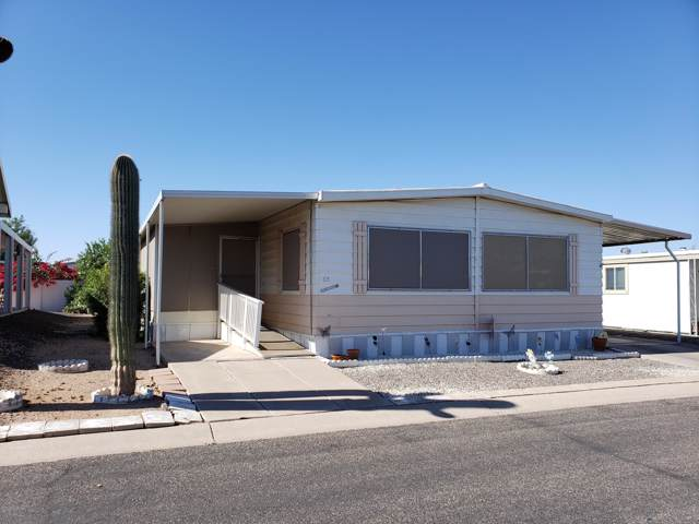 2401 W Southern Avenue #65, Tempe, AZ 85282 (MLS #6003010) :: RE/MAX Excalibur