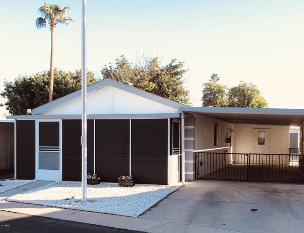 10701 N 99TH Avenue #165, Peoria, AZ 85345 (MLS #6005021) :: Long Realty West Valley