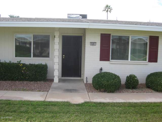 9481 N 111TH Avenue, Sun City, AZ 85351 (MLS #6006084) :: Kepple Real Estate Group