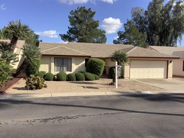 549 S 76TH Place, Mesa, AZ 85208 (MLS #6007974) :: Scott Gaertner Group