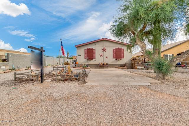 569 S Warner Drive, Apache Junction, AZ 85120 (MLS #6010743) :: The Daniel Montez Real Estate Group