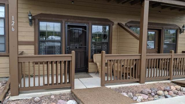 2347 Quarter Horse Trail #126, Overgaard, AZ 85933 (MLS #6010753) :: The Kenny Klaus Team