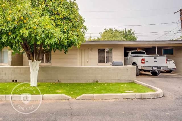 1219 E Colter Street #7, Phoenix, AZ 85014 (MLS #6010864) :: Riddle Realty Group - Keller Williams Arizona Realty