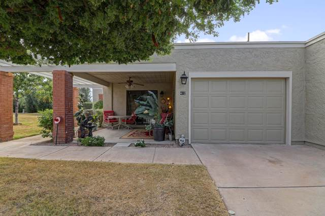 412 Leisure World, Mesa, AZ 85206 (MLS #6011906) :: Brett Tanner Home Selling Team