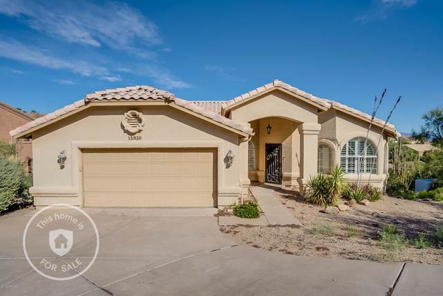15930 E Jericho Drive, Fountain Hills, AZ 85268 (MLS #6012900) :: Brett Tanner Home Selling Team