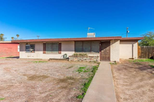 1020 N Coolidge Avenue, Casa Grande, AZ 85122 (MLS #6013585) :: Nate Martinez Team