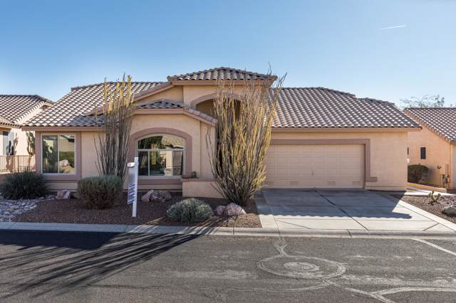 8853 E Saguaro Blossom Road, Gold Canyon, AZ 85118 (MLS #6013860) :: The Kenny Klaus Team