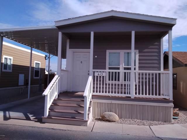 2460 E Main Street #40, Mesa, AZ 85213 (MLS #6014508) :: The Kenny Klaus Team