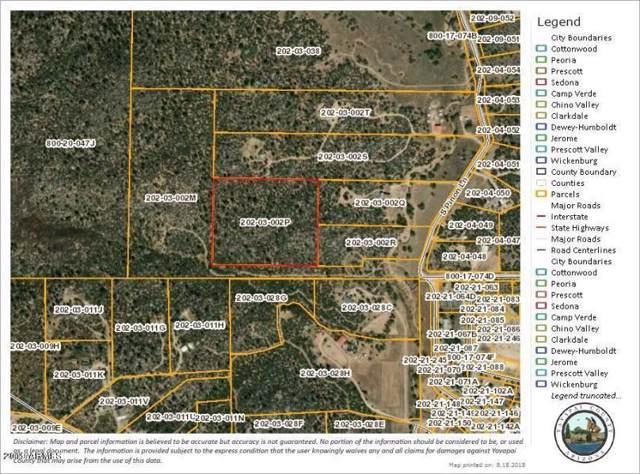 17926 S Pinon Lane, Peeples Valley, AZ 86332 (MLS #6015363) :: Klaus Team Real Estate Solutions