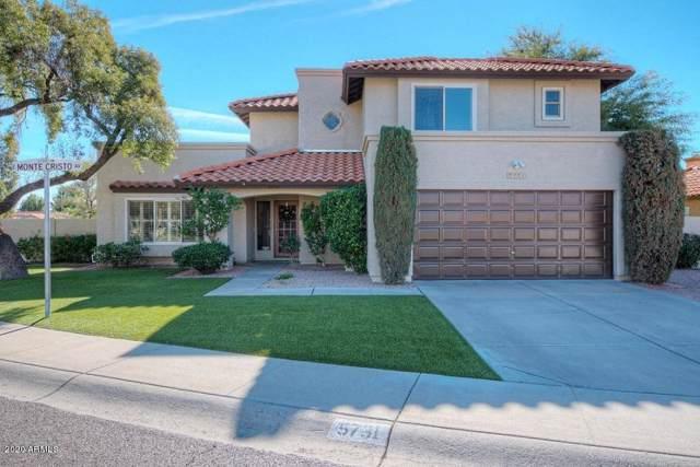 5731 E Monte Cristo Avenue, Scottsdale, AZ 85254 (MLS #6019881) :: The Kenny Klaus Team