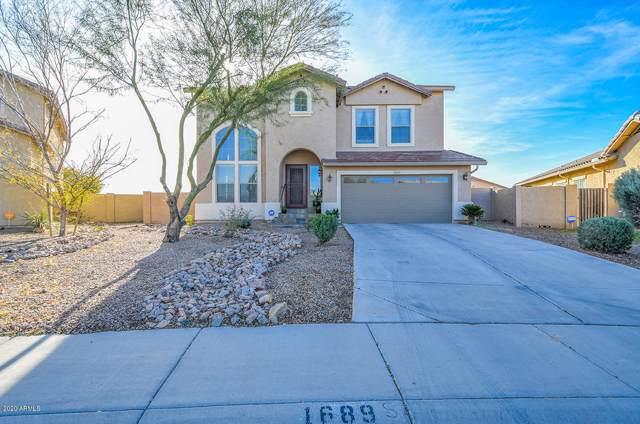 1689 E Silver Reef Drive, Casa Grande, AZ 85122 (MLS #6020168) :: The Kenny Klaus Team