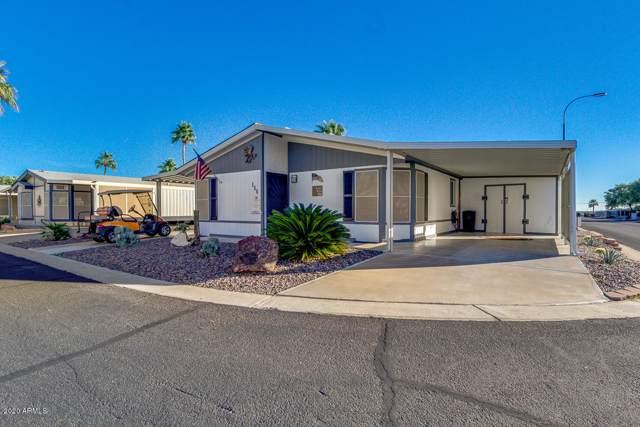 2400 E Baseline Avenue #155, Apache Junction, AZ 85119 (MLS #6020340) :: The Kenny Klaus Team