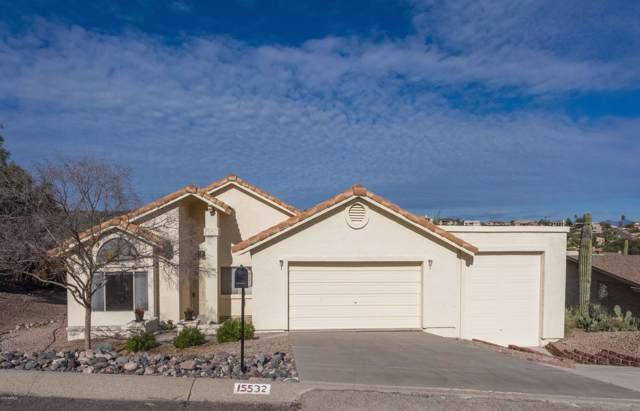 15532 E Tepee Drive, Fountain Hills, AZ 85268 (MLS #6022416) :: The Kenny Klaus Team