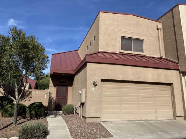 1015 S Val Vista Drive S #44, Mesa, AZ 85204 (MLS #6023105) :: CC & Co. Real Estate Team