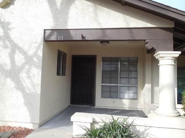 8140 N 107TH Avenue #101, Peoria, AZ 85345 (MLS #6026356) :: Nate Martinez Team